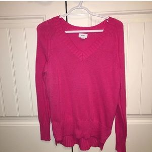 Brand New Old Navy Bright Pink Sweater